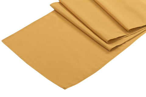 Polyester Table Runner - Gold