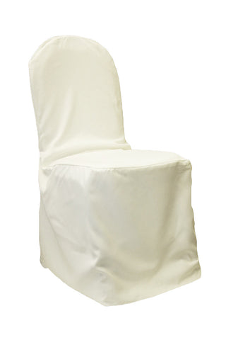 Polyester Chair Cover - Ivory