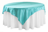 Satin Table Overlay - White