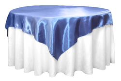 Satin Table Overlay - Cornflower/Serenity