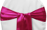 Satin Chair Sashes - Lavendar