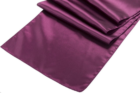 Satin Table Runners - Sangria