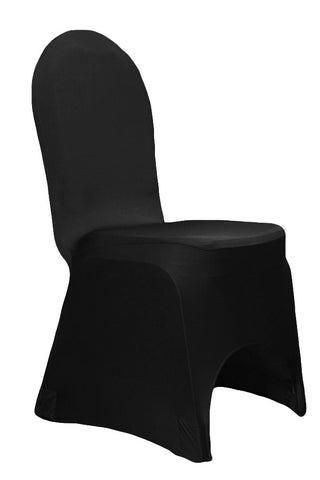 Spandex Stretch Chair Covers - Black