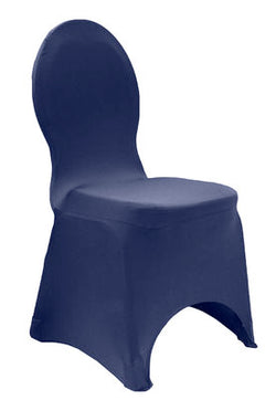 Spandex Stretch Chair Covers - Navy