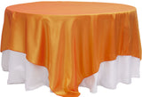 Taffeta Table Overlay - Black
