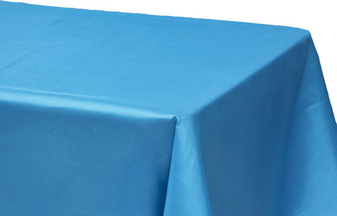 ... Taffeta Rectangle Table Linen   Coral ...