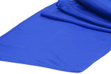 Taffeta Table Runners - Navy Blue