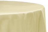 Taffeta Round Table Linen - Pink