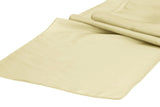 Taffeta Table Runners - Ivory