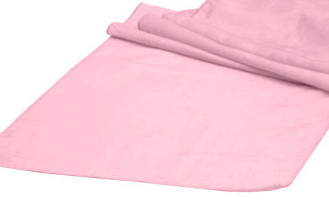 Taffeta Table Runners - Pink
