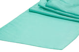 Taffeta Table Runners - Mint Green