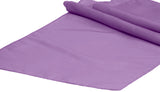 Taffeta Table Runners - Purple
