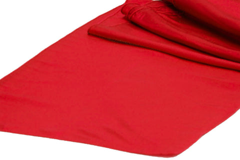 Taffeta Table Runners - Red