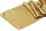Lamour Satin Runner - Antique Gold