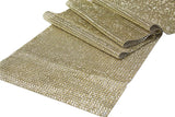 Rhinestone Mesh Table Runner - Gold