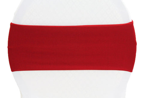 Stretch Spandex Chair Band - Apple Red
