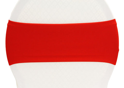 Stretch Spandex Chair Band - Red