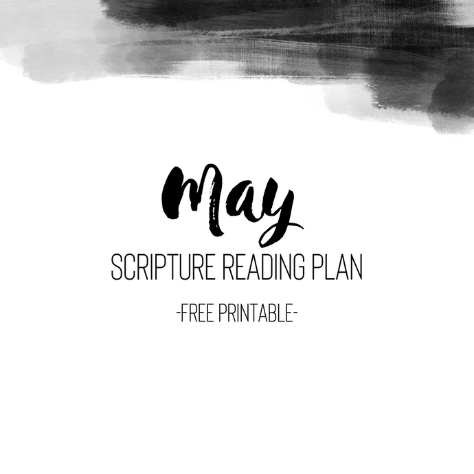 May Scripture Reading Plan