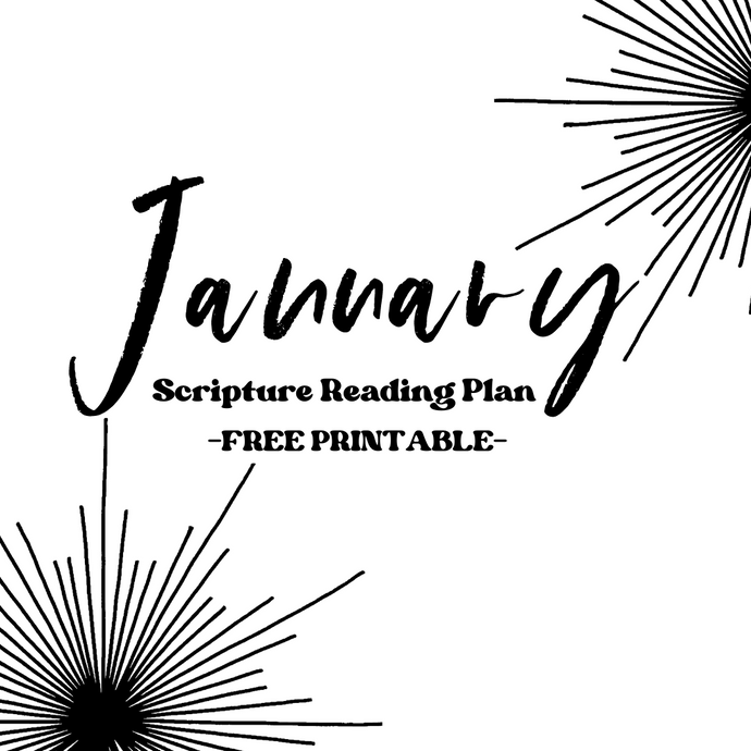 January 2021 Scripture Reading Plan