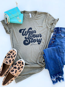 JBLOOM-Wear Your Story Retro-Olive