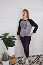 Load image into Gallery viewer, Snack Dealer-3/4 Baseball Tee