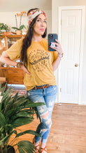Load image into Gallery viewer, Wild Side in Mustard