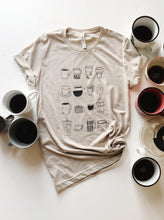 Load image into Gallery viewer, Mom Fuel Tee in Cafe au lait