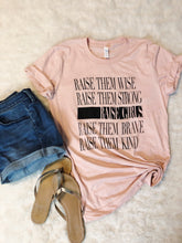 Load image into Gallery viewer, Raise Girls Tee -Peach