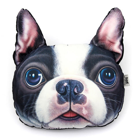 Almohada Boston Terrier