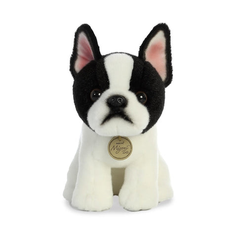 perro bulldog frances frenchie mexico regalo peluche aurora