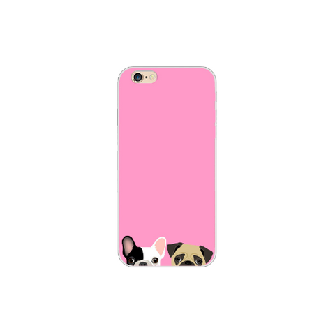 Funda de Pug & Frenchie