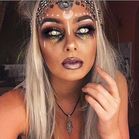 Halloween Fortune Teller Make up