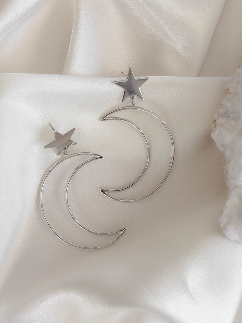8 Other Reasons Star & Moon Earrings