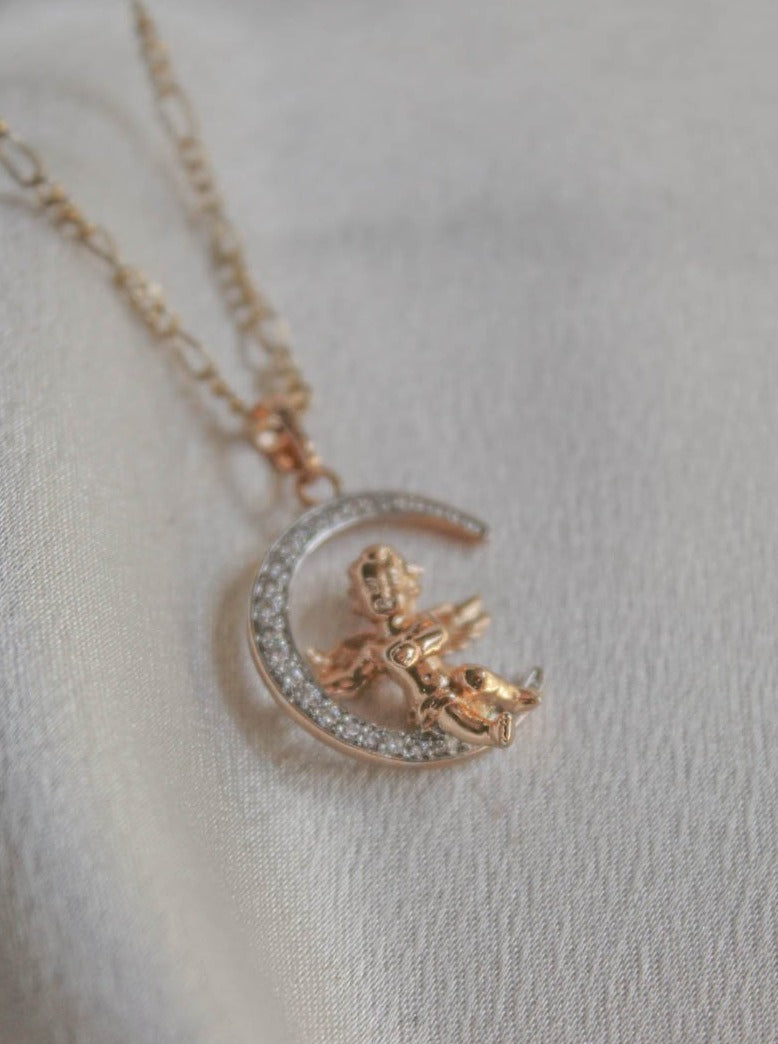Mishelle Angel Necklace by The Obcessory