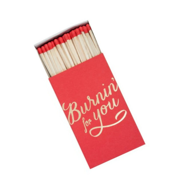 Burnin' For You Decorative Matchbox