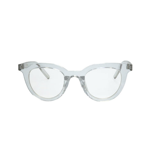 Clear Lens Sunglasses with Clear Plastic Frame