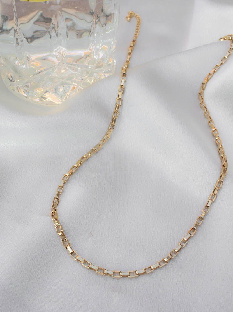 Box Chain Necklace by Harper Made