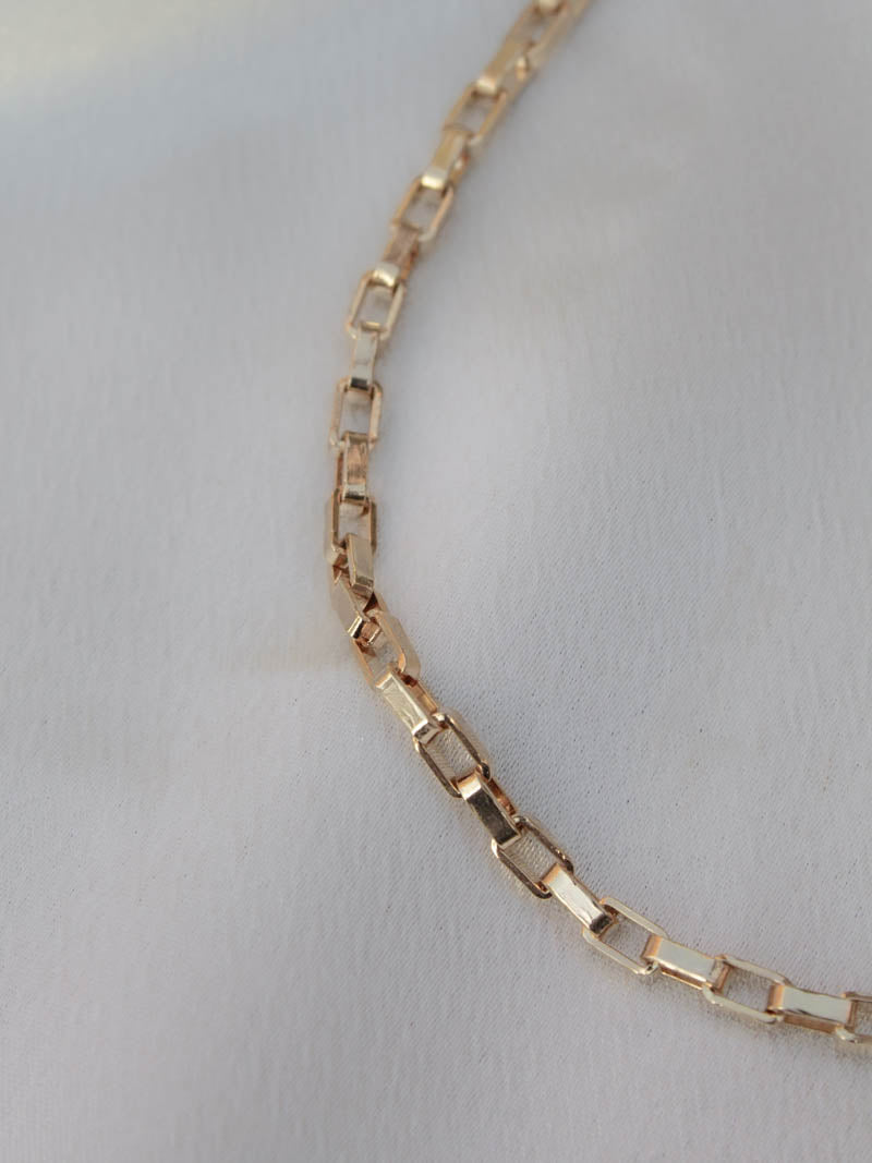 Gold Box Chain by Harper Made