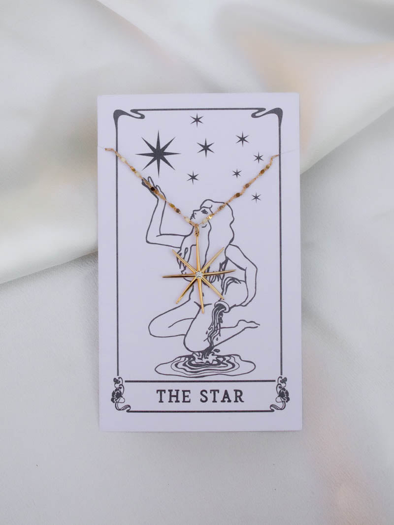 HARPER MADE . TAROT STAR NECKLACE