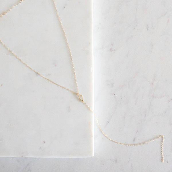MINI SCALENE NECKLACE | PI COLLECTION