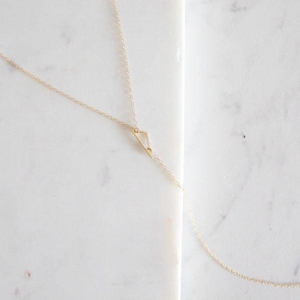 DAINTY, MINIMALIST, GEOMETRIC NECKLACE