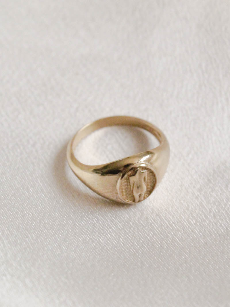 Jonesy Wood Silhouette Ring