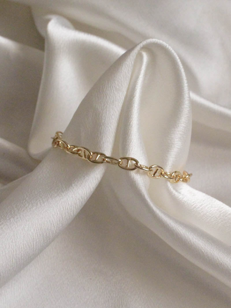Gold Tinsley Bracelet by Jonesy Wood