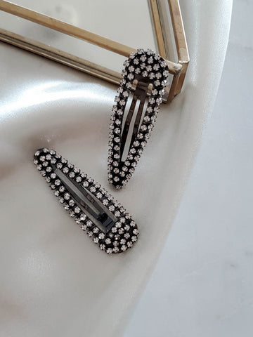 KITSCH . DIAMOND BOBBY PINS