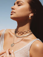 MINC COLLECTIONS . SERPENT CHOKER  NECKLACE