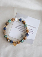 STUD MUFFIN BOSTON . MULTI GEMSTONE HEALING BRACELET