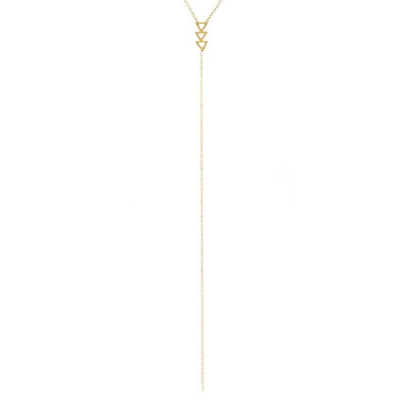 PI COLLECTION TERNION LARIAT STYLE NECKLACE
