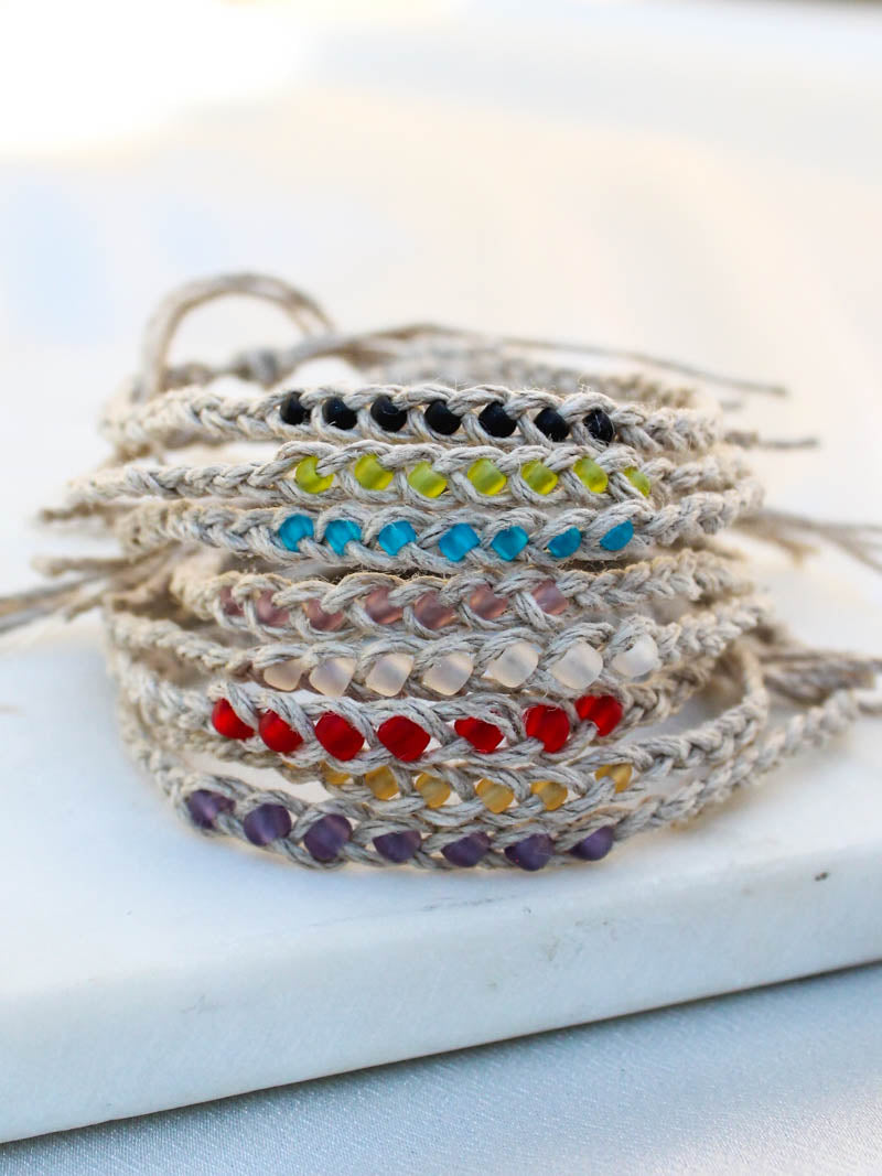 Beaded wish bracelet | The Obcessory