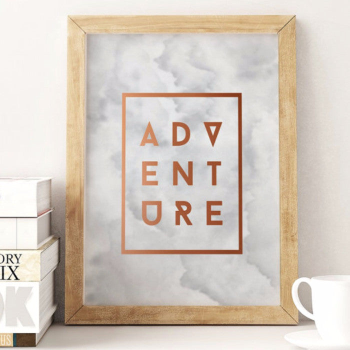 Adventure Framed Wall Print