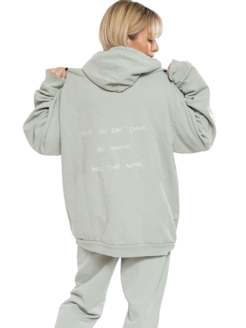 Boys Lie Choose Me Embroidered Sweatshirt